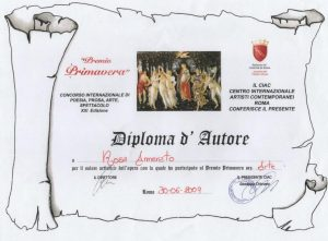 Diploma d'autore